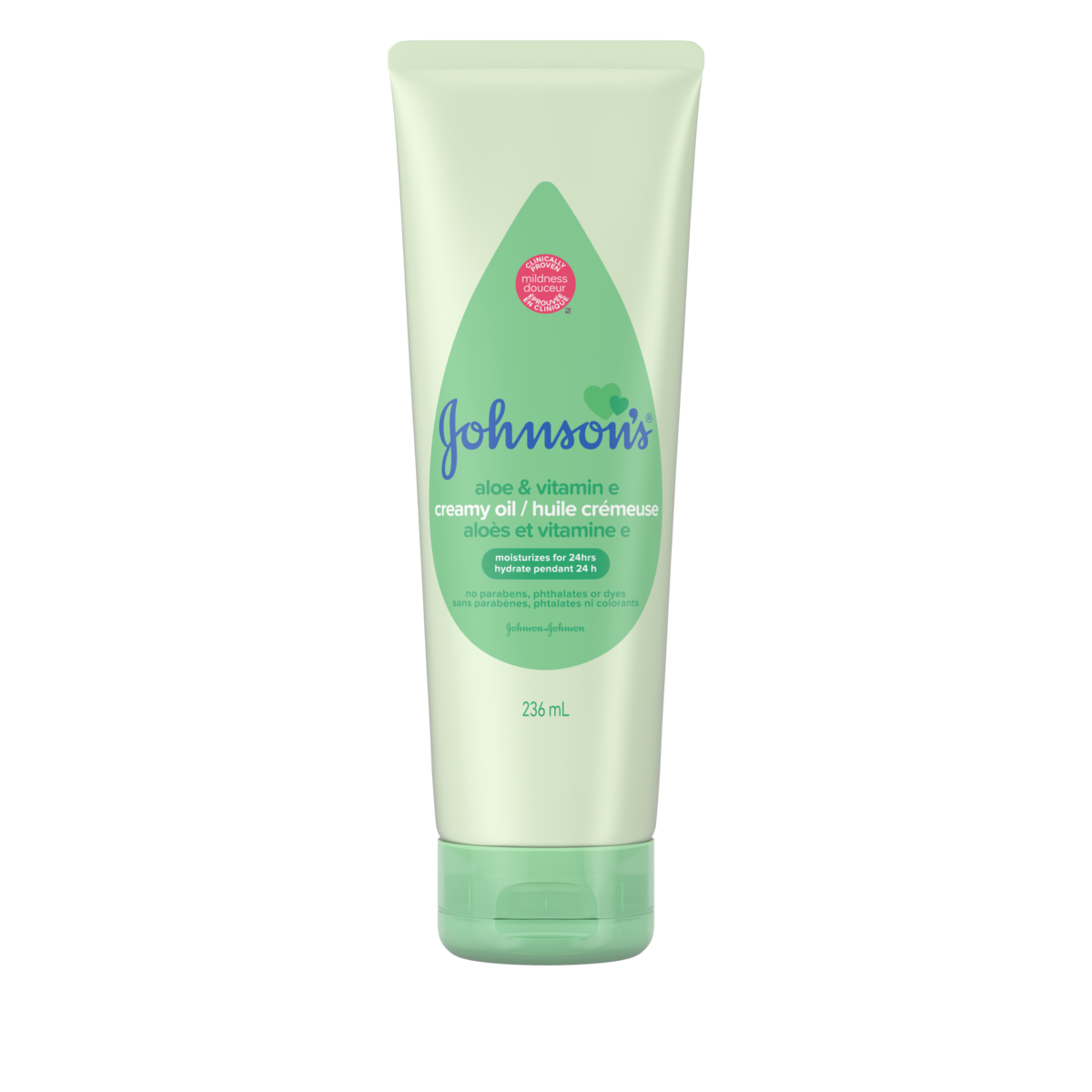 Jonhson's Aloe and Vitamin E Creamy Oil