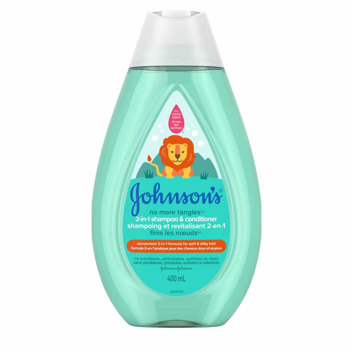 Johnson's No More Tangles 2-in-1 Shampoo and Conditioner