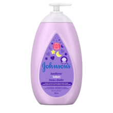 JOHNSON'S® BEDTIME® baby lotion front hero