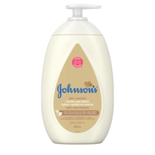 JOHNSON'S® skin nourish vanilla oat baby lotion front hero