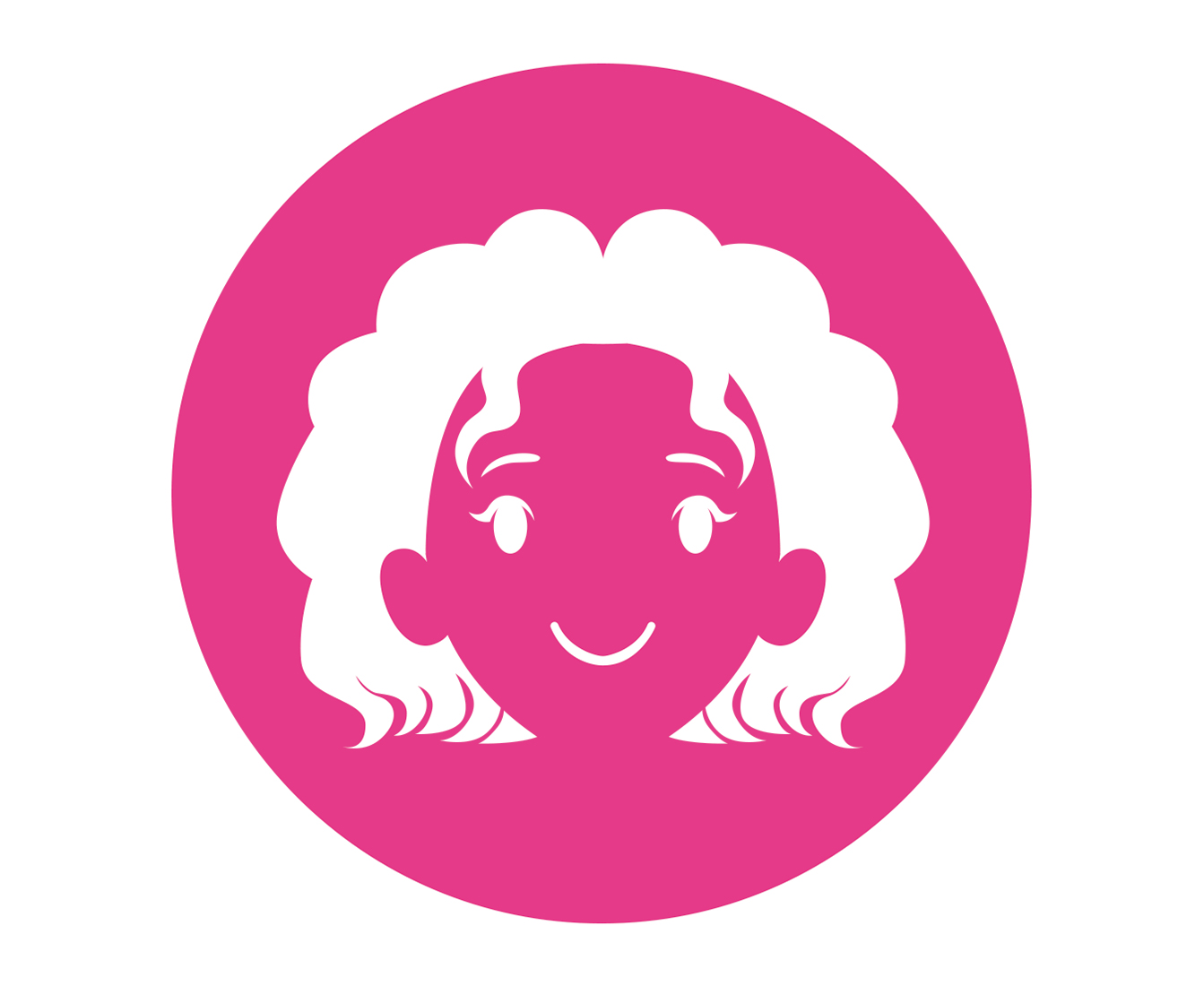 toddler hair icon